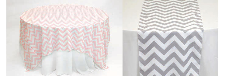 Chevron Pattern Linens