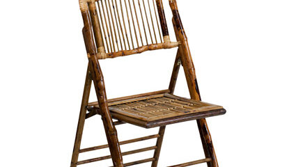 Bamboo Folding Chair - AC Party Rentals