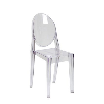 Ghost Chair Armless - AC Party Rentals