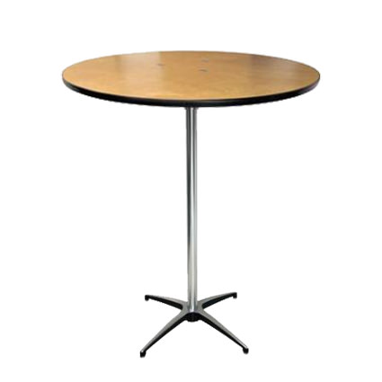 36in Hi Cocktail Table - AC Party Rentals