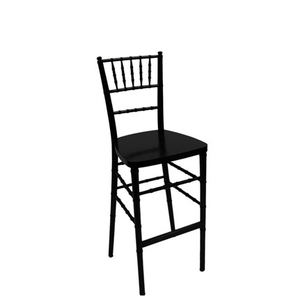 Black Chiavari Barstool - AC Party Rentals