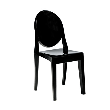 Ghost Chair Black - AC Party Rentals