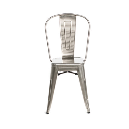Monroe Gunmetal Chair - AC Party Rentals