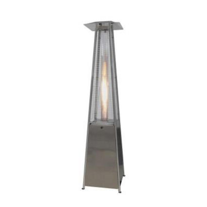 Outdoor Pyramid Flame Heater