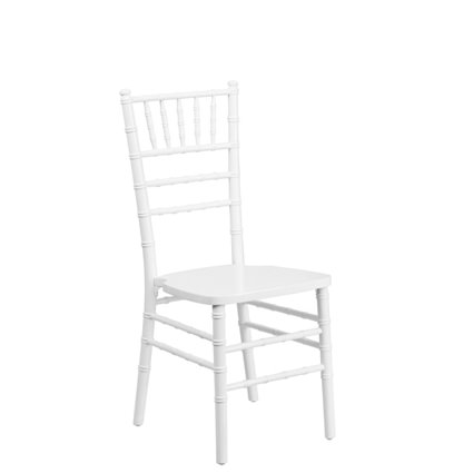 White Chiavari Chair - AC Party Rentals